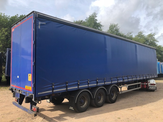 CURTAINSIDER TRI AXLE SDC 4 4M 2011 STOCK NO 108374