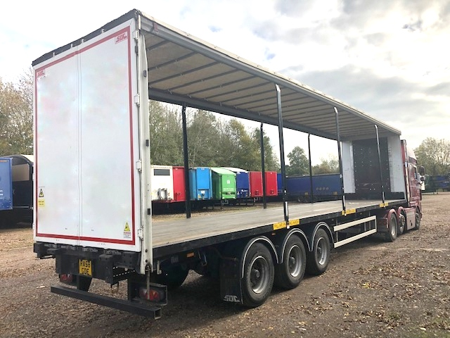 CURTAINSIDER TRI AXLE SDC 4 2M 2016 STOCK NO 108408