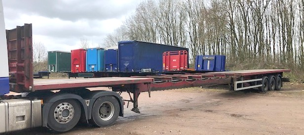 TRI AXLE EXTENDER WEIGHTLIFTER 13 2005 STOCK NO 108565