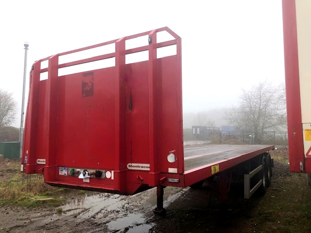 TANDEM AXLE MONTRACON 10M 2016 STOCK NO 119025