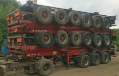 EXPORT BPW DISC 5 STACK SKELETALS