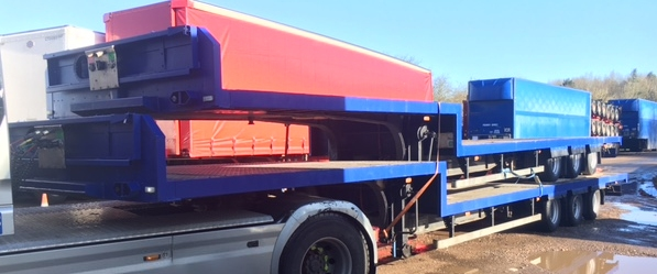 STEP FRAME FLAT TRI AXLE CONCEPT 13 6M 2006 STOCK NO 87362