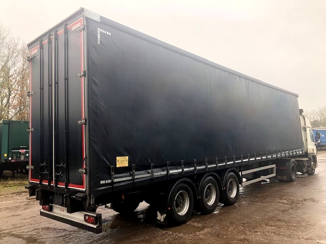 TRI AXLE MONTRACON 4.65M 2017 CURTAINSIDER STOCK NO 118986