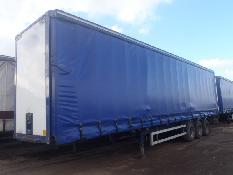 CURTAINSIDER.TRI AXLE.MONTRACON.4.6M.2004.STOCK NUMBER 76091