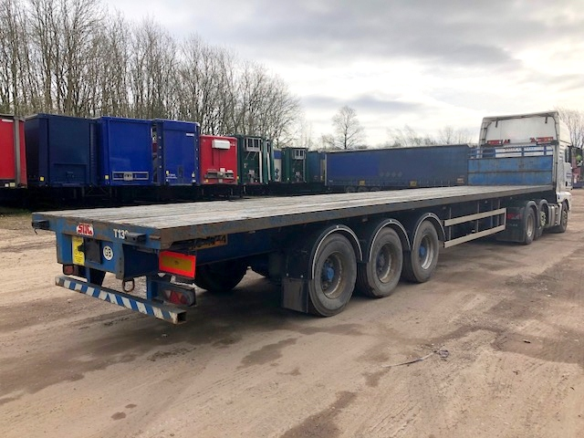 FLAT TRI AXLE SDC 13 6M 2008 STOCK NO 98041
