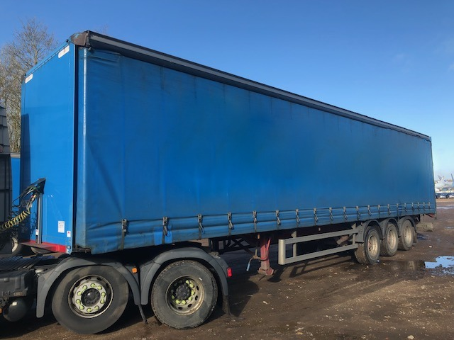 CURTAINSIDER TRI AXLE MONTRACTON 4.2M 2008 STOCK NO 98074