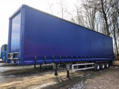 CURTAINSIDER TRI AXLE SDC 4 5M 2011 STOCK NO 97808