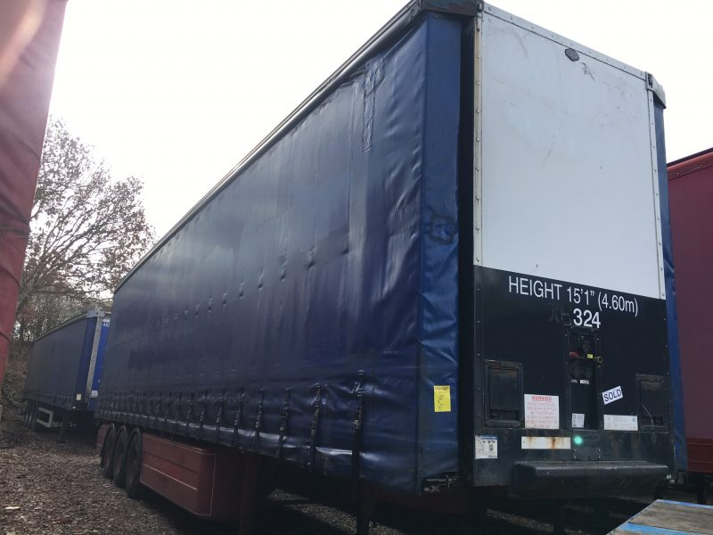 CURTAINSIDER TRI AXLE CARTWRIGHT 4 65M 2006 STOCK NUMBER 87077