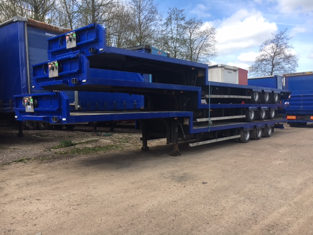 STEP FRAME FLAT TRI AXLE CONCEPT 13 6M 2006 STOCK NO 87363