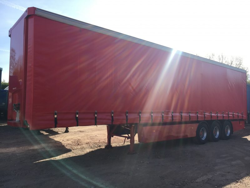 CURTAINSIDER TRI AXLE SDC 4 4.2M 2008 STOCK NUMBER 87223