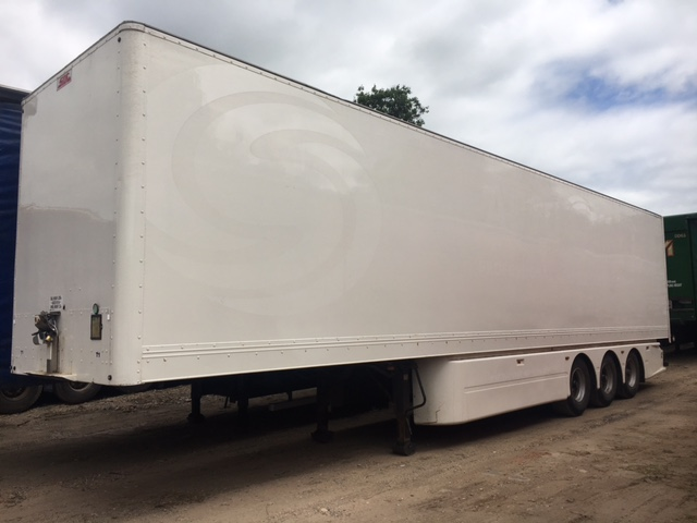 BOX TRI AXLE SDC 4 2M 2003 CJC STOCK NO 97571