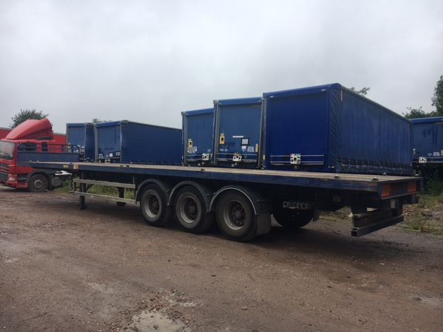 ORIGINAL BUILD FLAT PSK TRI AXLE MONTRACON 2009 STOCK NUMBER 97621