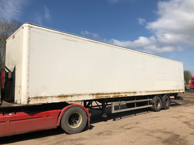 TANDEM AXLE SDC BOX VAN 4M 2010 CJC STOCK NO 98082