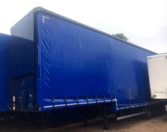 CURTAINSIDE DOUBLE DECK TRI AXLE MONTRACON 4 87M 2007 STOCK NO 97683