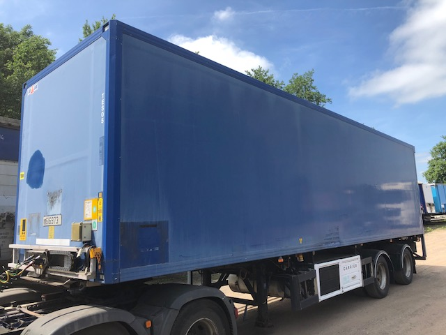TANDEM AXLE G&A URBAN FRIDGE BOX VAN 4M 2005 CJC STOCK NO 98172