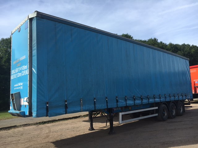 CURTAINSIDER.TRI AXLE.CARTWROGHT.4.65M.2006.STOCK NUMBER 87008