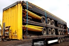 EXPORT BPW DRUM 5 STACK FLATS
