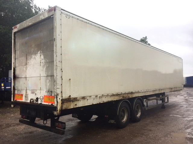 TANDEM AXLE SDC BOX VAN 4M 2010 CJC STOCK NO 97688