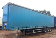 CURTAINSIDER TRI AXLE SDC 4 4M 2012 STOCK NO 97628