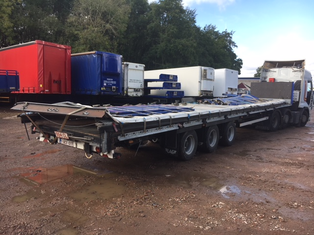 MEGA FLAT TRI AXLE LAG 2012 STOCK NUMBER 97755