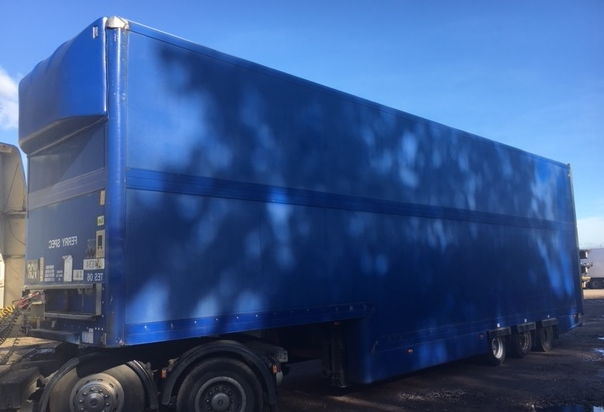 STEP FRAME BOX TRI AXLE CONCEPT 4 8M 2006 CJC STOCK NO 97663