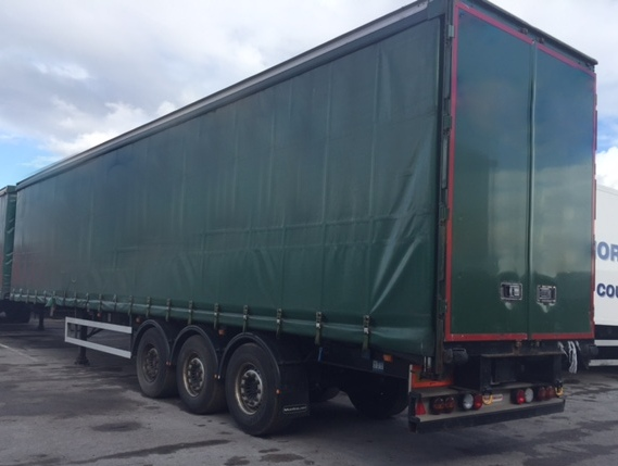 CURTAINSIDER TRI AXLE 4.5M 2011 STOCK NO 87058