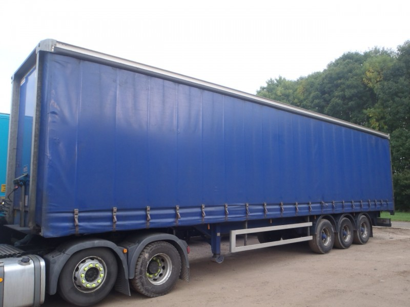 CURTAINSIDER.TRI AXLE.MONTRACON.4.65M.2009.STOCK NUMBER 76111