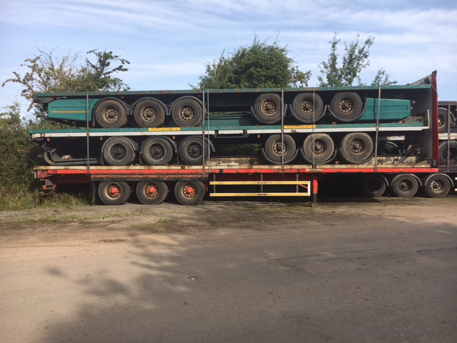 STACK OF 5 TRI AXLE C/W, SDC, M&G BPW DRUM STACK NUMBER 868