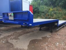 FLAT TRAILERS STEP FRAME