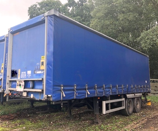CURTAINSIDER TANDEM AXLE SDC 4M 2006 SLIDE AWAY TAIL LIFT STOCK NO 118912