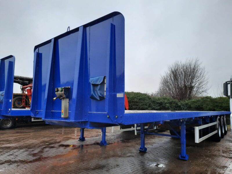 TRI AXLE PSK FLAT SDC 2012 STOCK NO 118688